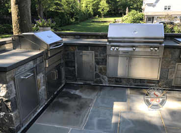 Outdoor Kitchen Pelham Manor NY