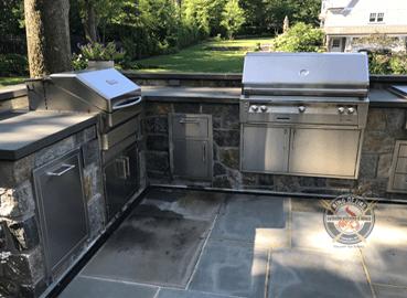 Outdoor Kitchen Pelham Manor NY