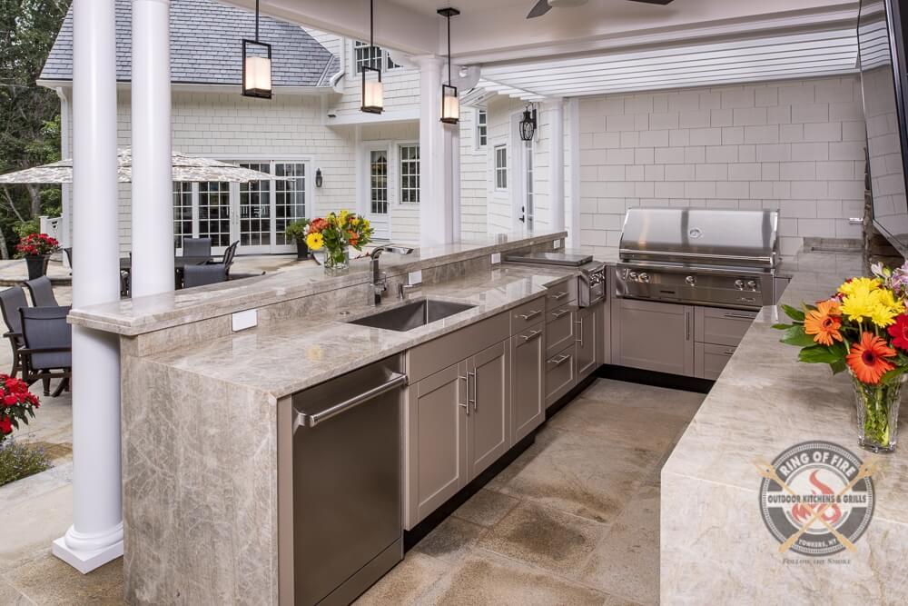 Outdoor Kitchen Idea, Westchester County NY