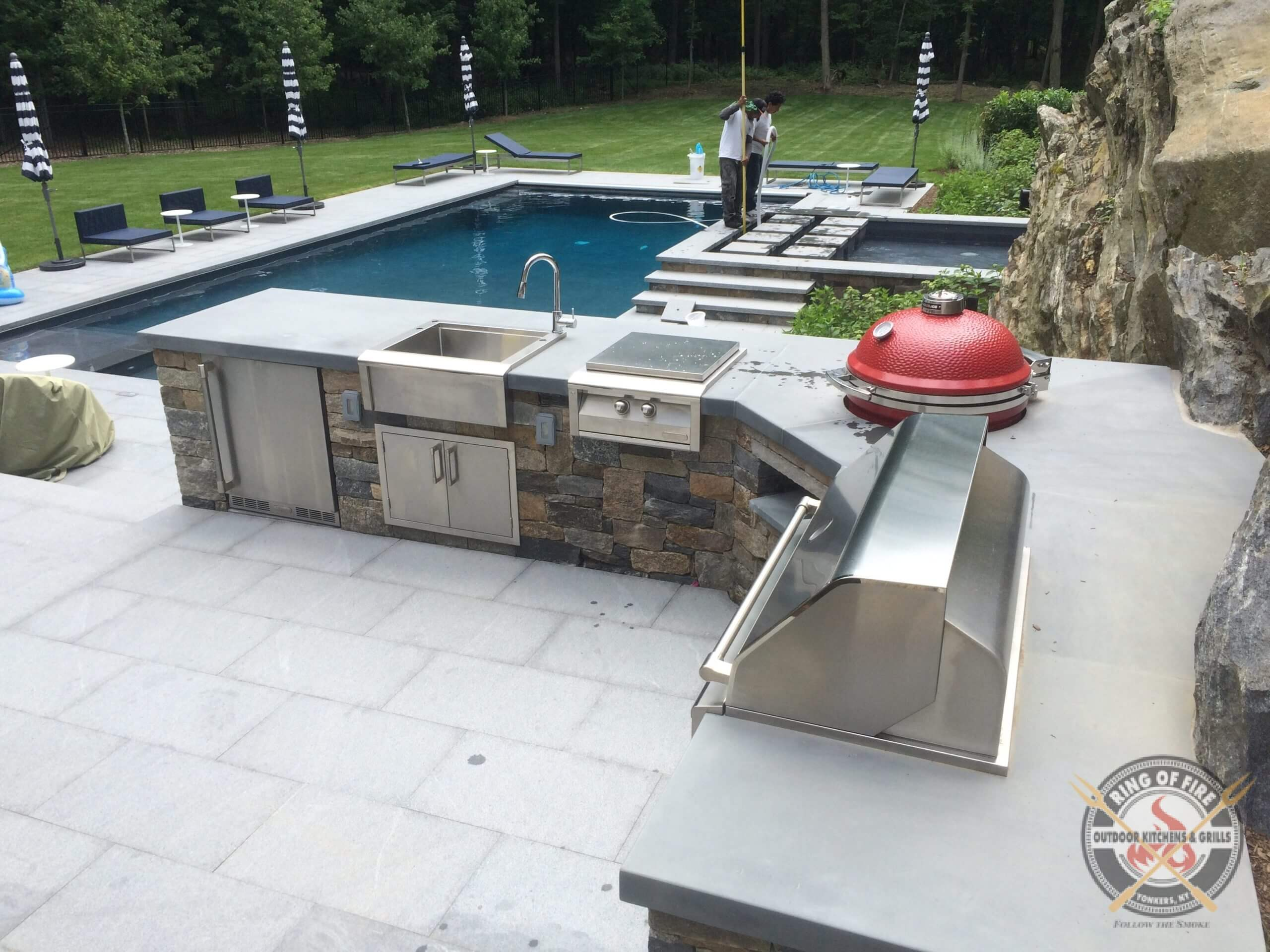 Alfresco Outdoor Kitchen, Armonk NY