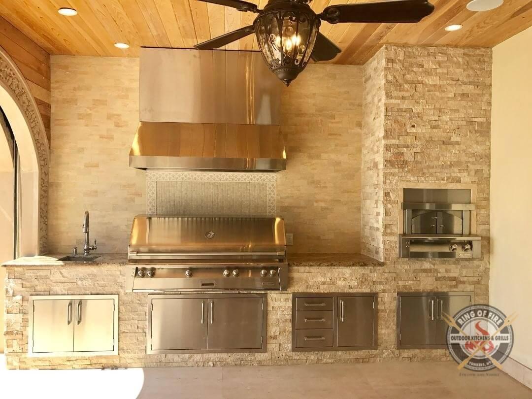 """Alfresco Outdoor Kitchen - 56"""" Grill"""